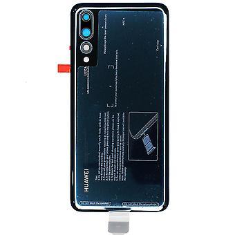Genuína azul volta cobrir para Huawei P20 Pro