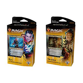 MTG: GUILDS OF RAVNICA Planeswalker RAL and VRASKA 2-Pack cards