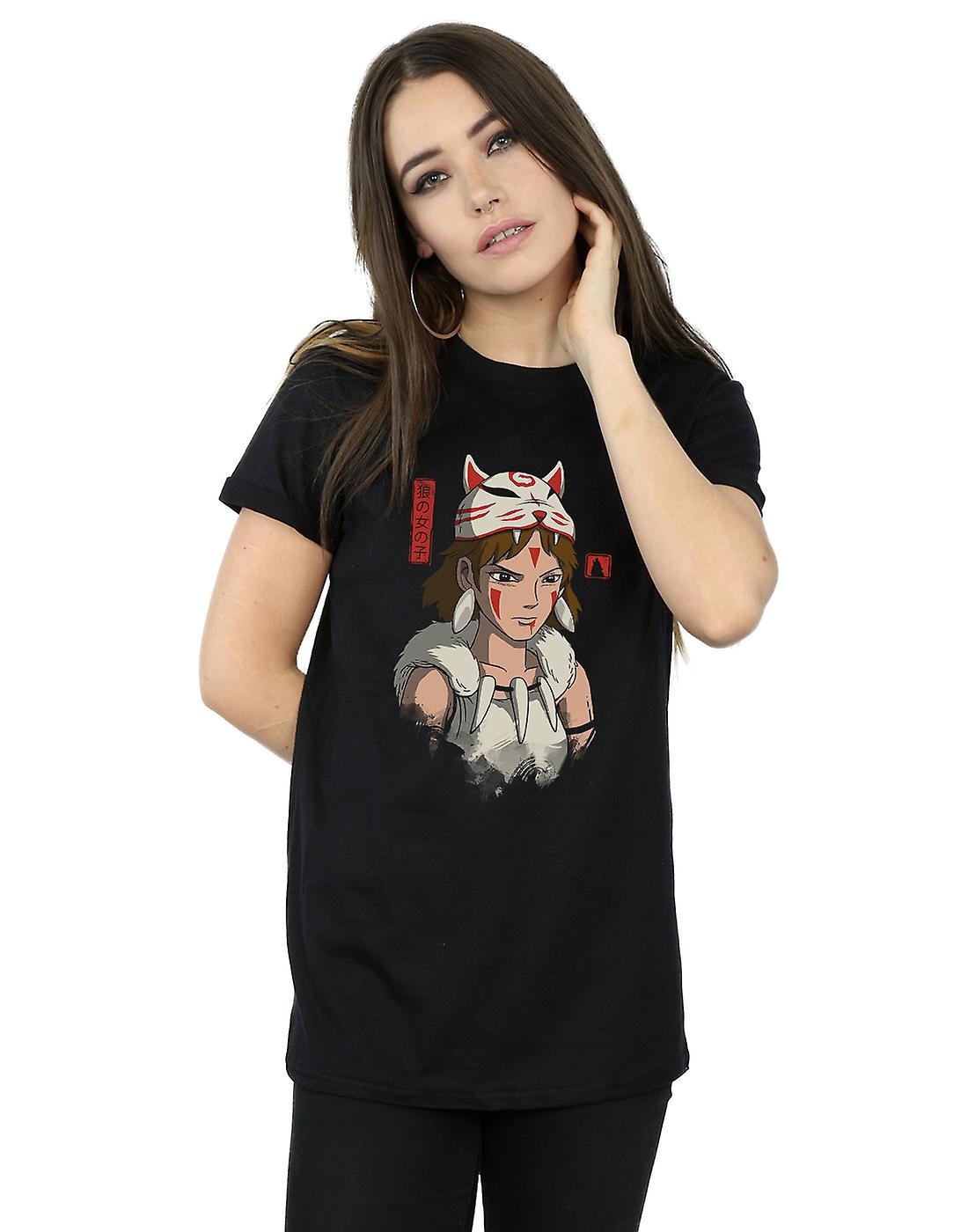 Vincent Trinidad Women's Wolf Mask Boyfriend Fit T-Shirt