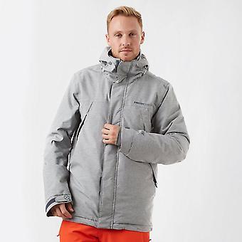 New Protest Men's Waterproof Breathable Texture Jacket Grey