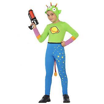Kinder kostuums jongens Alien kostuum