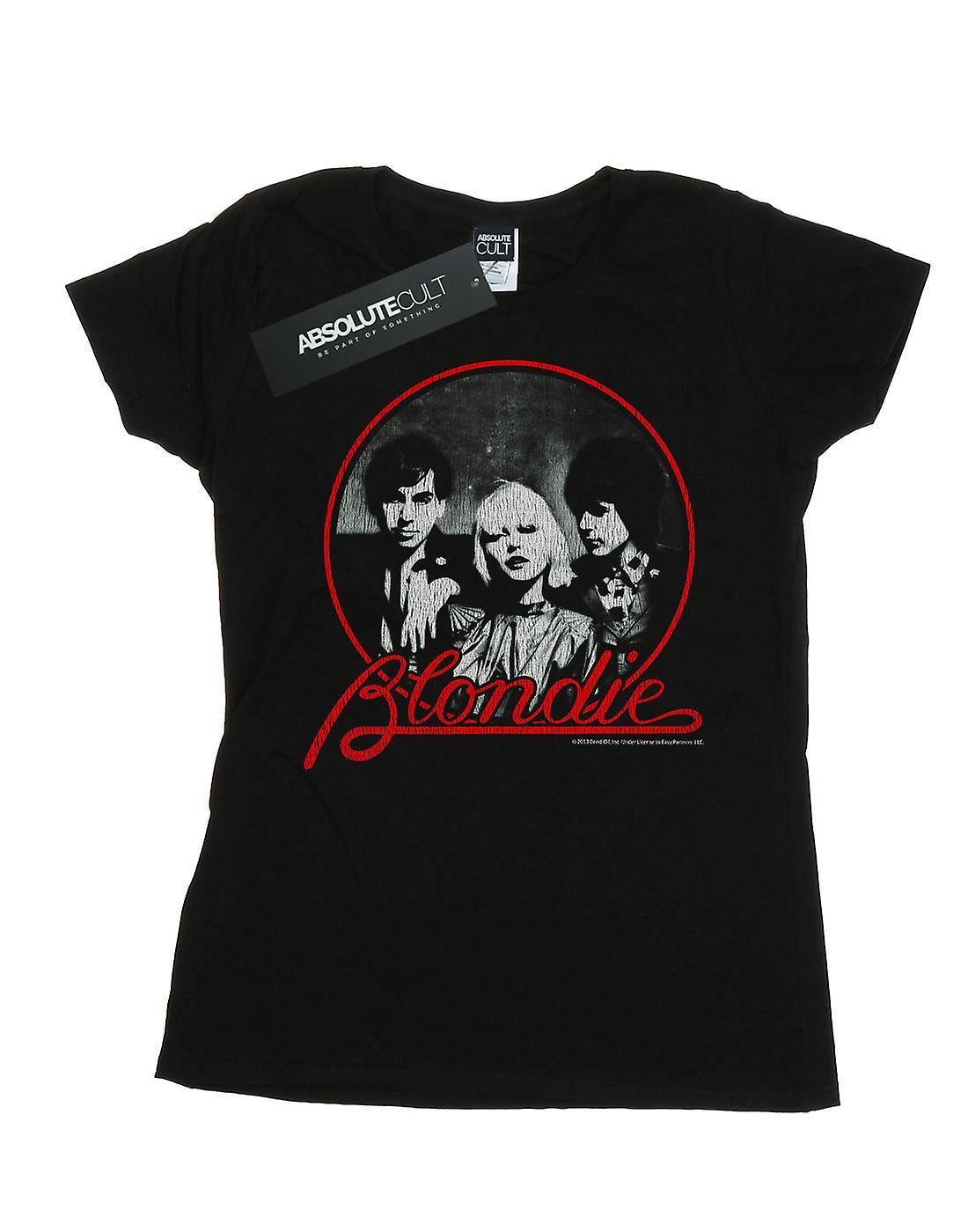 Blondie Women's Distressed Circle T-Shirt