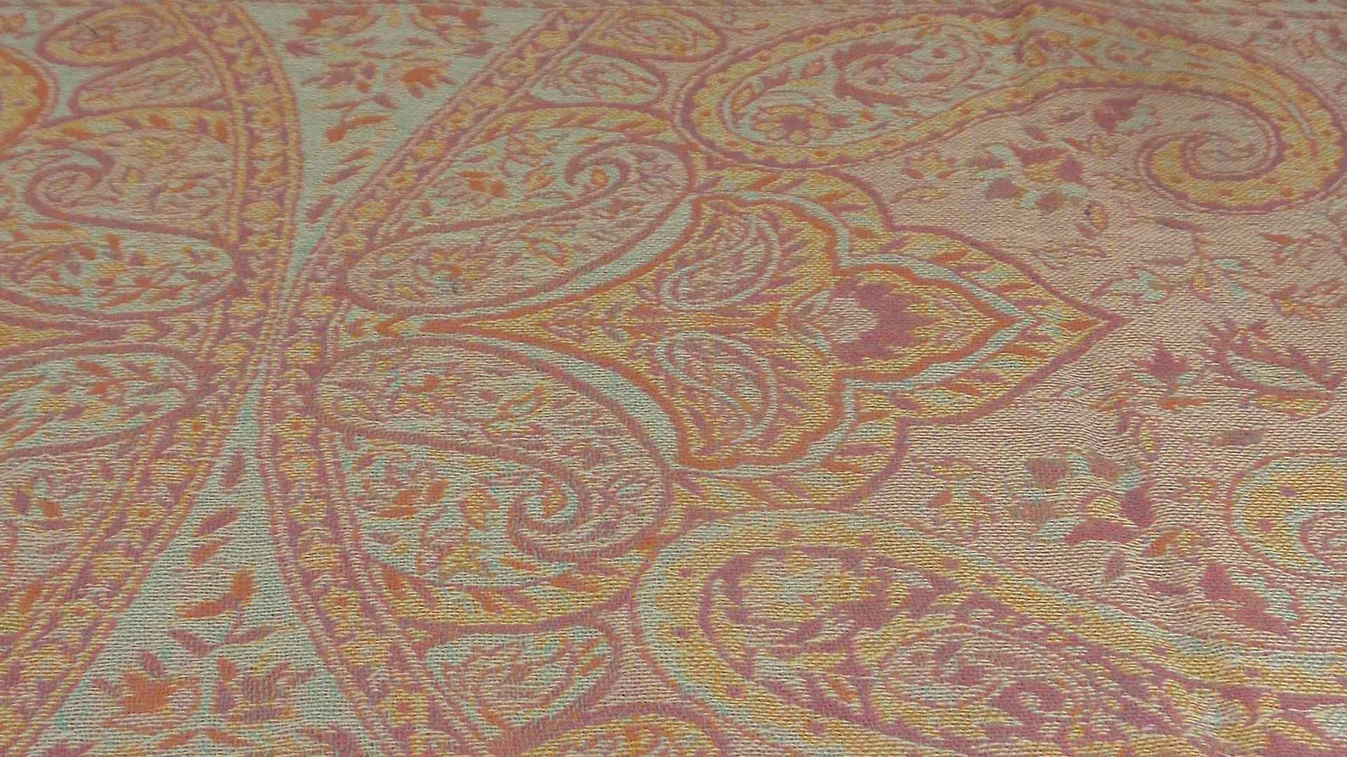 Muffler Scarf 3073 in Fine Pashmina Wool Heritage Range by Pashmina & Silk