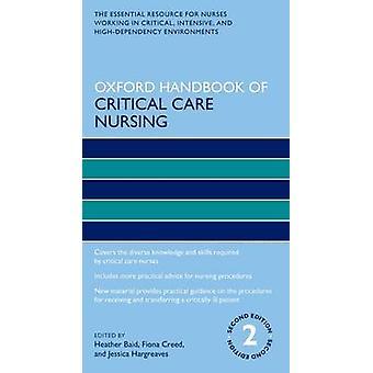 Oxford Handbook kritiske omsorg sykepleie (2 revidert utgave) av Fio