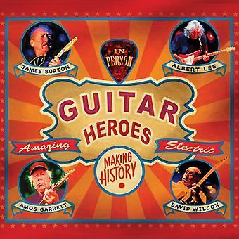 James Burton, Albert Lee, Amos Garrett, - Guitar Heroes [Vinyl] USA import