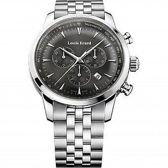 Louis Erard Heritage Silver Silver Metal Bracelet Men's Watch 13900AA03.BMA38 42mm