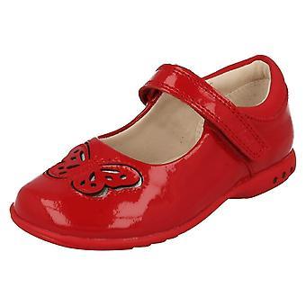 Mädchen-Clarks Leuchten Schuhe Trixi Wunsch
