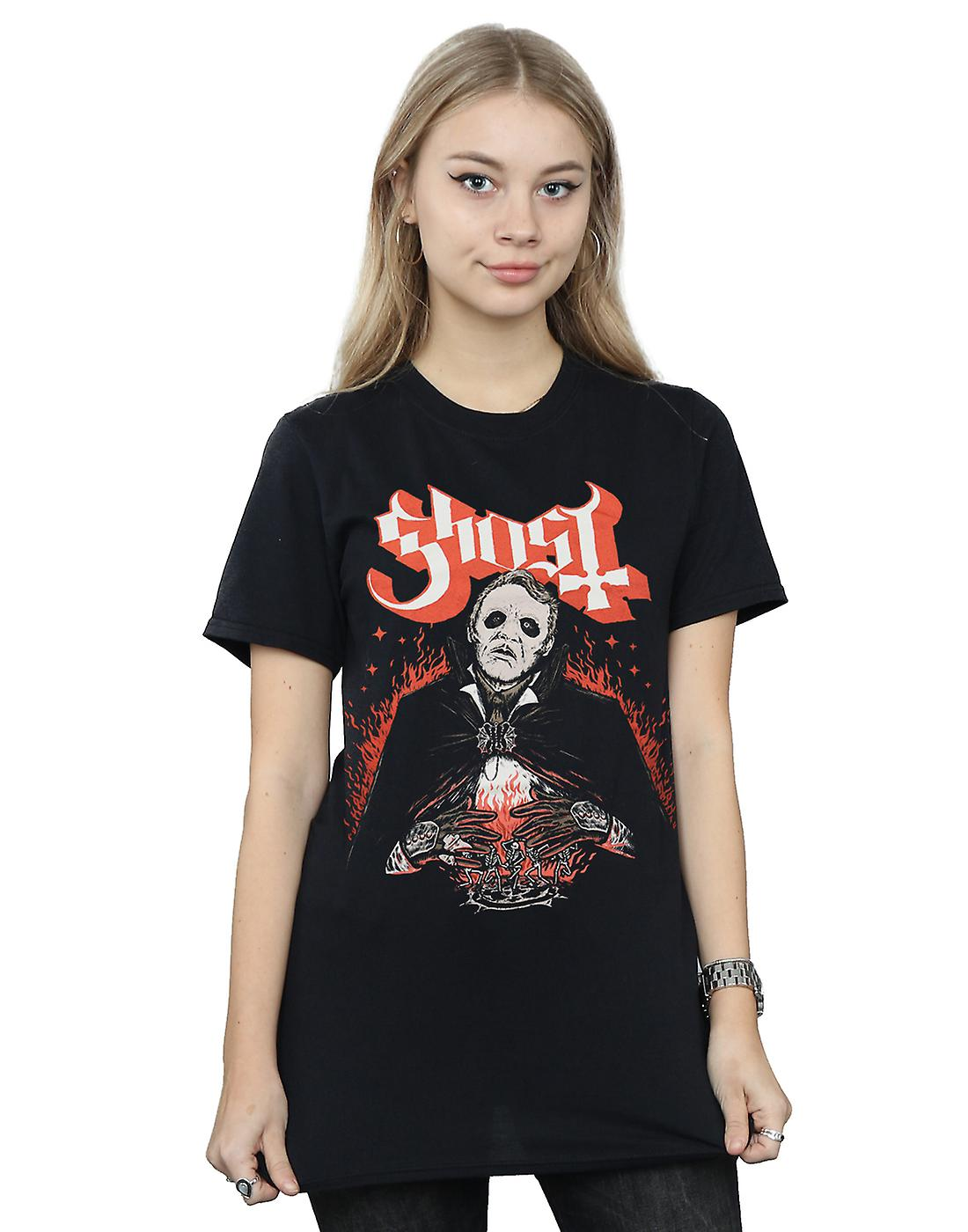 Ghost Women's Dance Macabre Boyfriend Fit T-Shirt