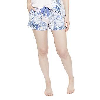 Cyberjammies 4103 kvinnors Isla rosa blad ut pyjamas kort