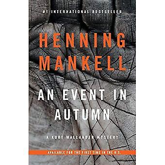 Un événement à l'automne