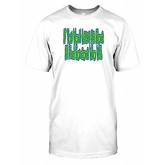 Wenn Sie mich nicht verlassen werde allein finde ich jemanden, der die - lustiges Zitat-Herren-T-Shirt