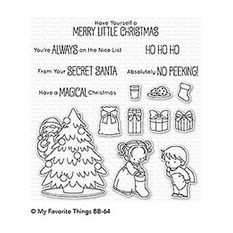 My Favorite Things Secret Santa Clear Stamps