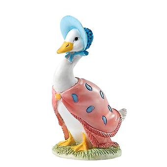 Beatrix Potter Jemima Puddle-ankka miniatyyri Figurine