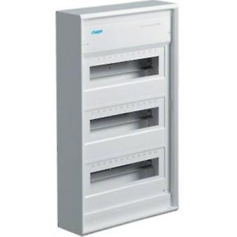 Hager VA36CN Switchboard cabinet Surface-mount No. of partitions = 36 No. of rows = 3