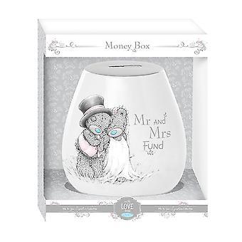 Eu para você casamento Mr & Mrs caixa de dinheiro (presente encaixotado)
