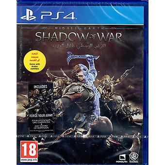 Middle-Earth Shadow of War PS4 Game (English/Arabic Box)