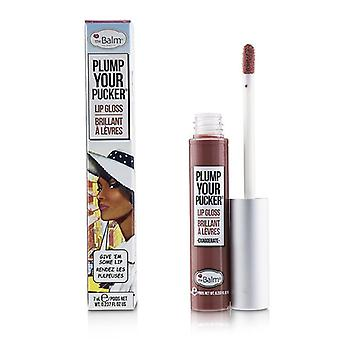 TheBalm Plum Your Pucker Lip Gloss - # Exaggerate 7ml/0.237oz