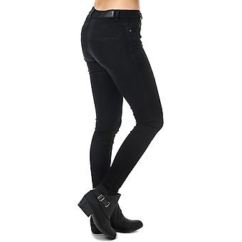 Womens Vero Moda Julia Flex It Slim Jeggings In Black