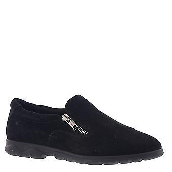 Vaneli Womens Lenore Leather Low Top Zipper Walking Shoes