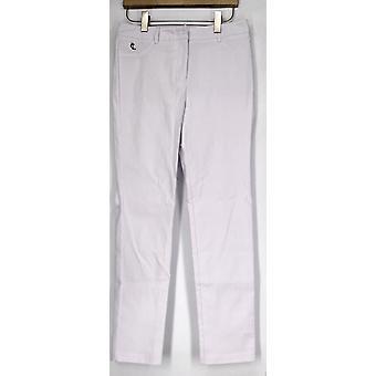 Die Gräfin Kollektion Boot geschnitten Bein ziehen Auf weiße Hose Damen A415365