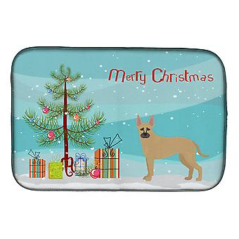 Shepherd Pit Mix #2 Christmas Tree Dish Drying Mat