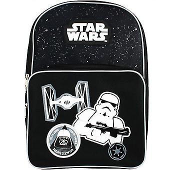 Star Wars firkantet lomme rygsæk 40 x 27 x 15cm