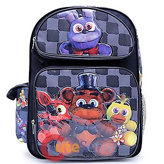 Backpack - Five Nights At Freddys - Bonnie Chica Foxie Back Checker New 151168