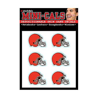 Wincraft 6 Ers Face Sticker 3cm - NFL Cleveland Browns