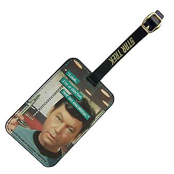 Luggage Tag - Star Trek - Dr. McCoy Graphic New Toys Licensed ST-L103