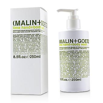 Malin+goetz Lime Hand+body Wash - 250ml/8.5oz