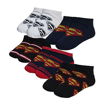 Superman Symbole Kinder Socke 5 Pack