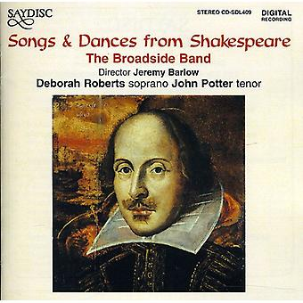 Broadside Band - Songs and Dances From Shakespeare [CD] USA import