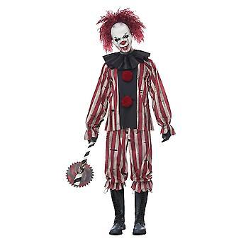 Mens Nightmare Clown Costume
