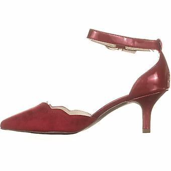 Anne Klein Womens findaway Pointed Toe Ankle Strap Classic Pumps