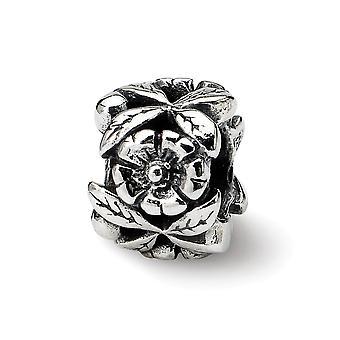 925 sterlinghopea antiikki viimeistely reflections simstars kukka helmi charmia riipus kaulakoru korut lahjat naisille