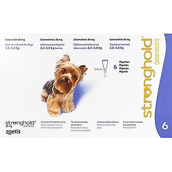 Stronghold Violet Dogs 2.3-4.5kg (5-10lbs) - 6 Pack
