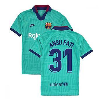 2019-2020 Barcelona Third Nike Shirt (Kids) (Ansu Fati 31)