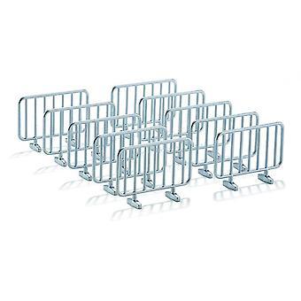 Siku 2464 10 Metal Barriers  1:32