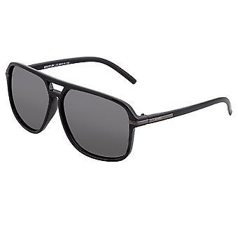 Förenkla vass polariserade solglasögon-svart/svart