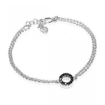 Sif Jakobs Bracelet Biella Piccolo Silver Collection SJ-B337-1-BK