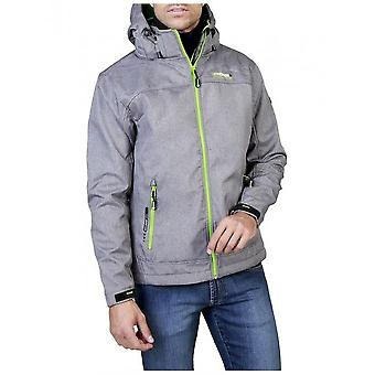 Geographical Norway - Clothing - Jackets - Twixer_man_lgrey_green - Men - gray,lime - S