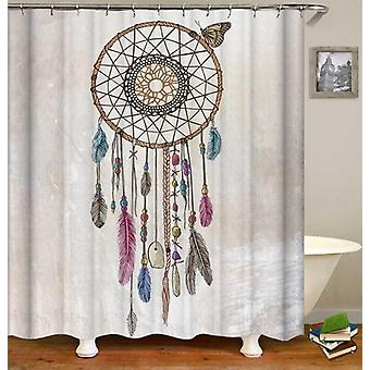 Dream Catcher Drawing Shower Curtain