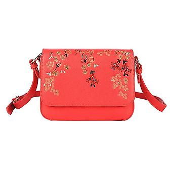 Jewelcity Embroidered Floral Cross Body Bag