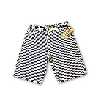 Tailor Vintage shorts in grey and blue check