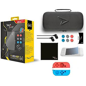 Steelplay Carry & Protect Kit 11 in 1 Für Nintendo Switch