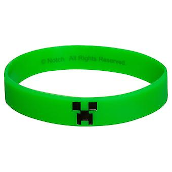 Minecraft, Silikonarmband - Creeper