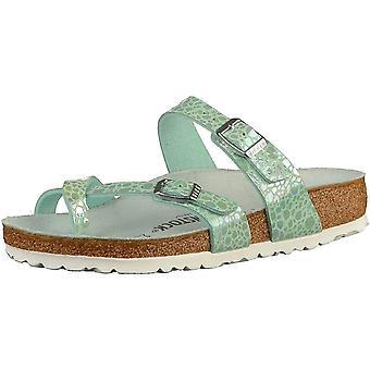 Birkenstock Mayari Birko-flor Sandal Standard Fit - Metallic Stones Aqua / Lilac