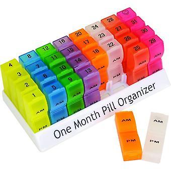 Aidapt pillendoosje voor de hele maand