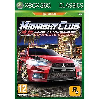 Midnight Club LA - Complete Edition (Xbox 360) - As New