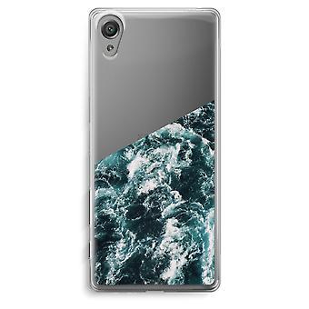 Sony Xperia XA Transparent Case - Ocean Wave